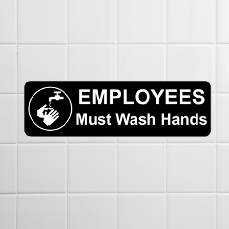 Employees Only Signage
