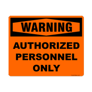 Personnel Signs