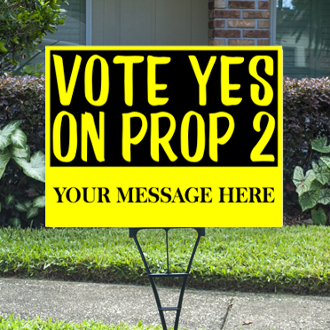 Proposition Signs