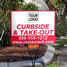 Take Out Signs