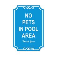 No Pets Signs