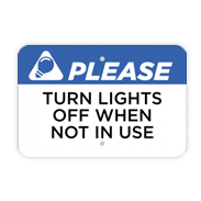 Save Energy Signs