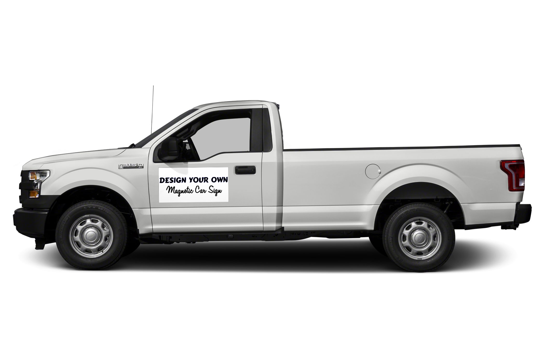 Car Magnetic Signs on truck