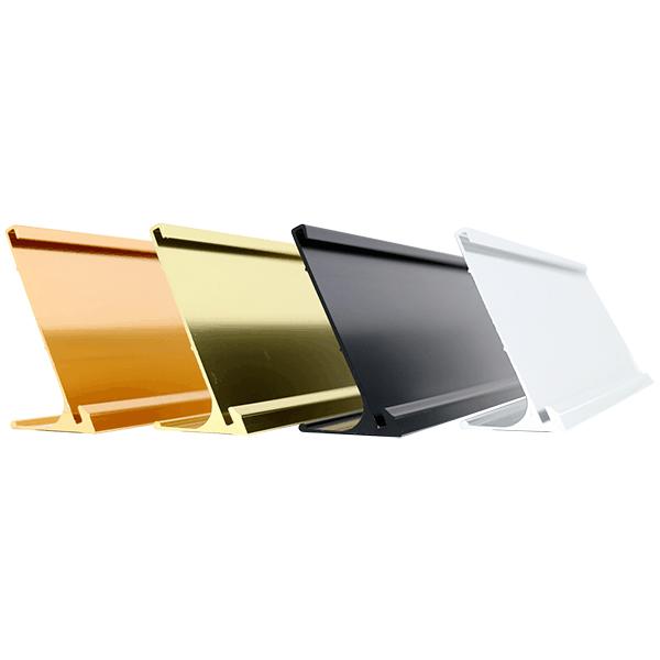 """2"""" x 8"""" Aluminum Desk Holder"""