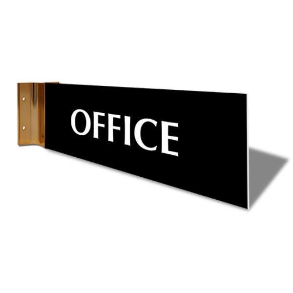 "Office Corridor Sign   4"" x 12"""