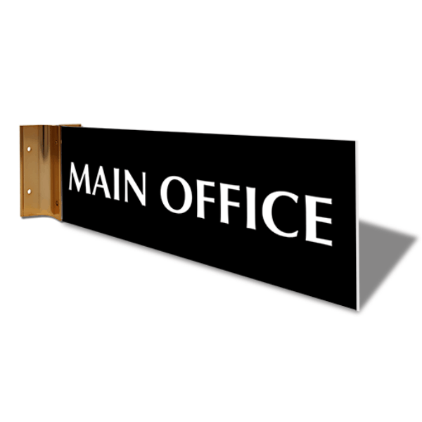 "Main Office Corridor Sign | 4"" x 12"""