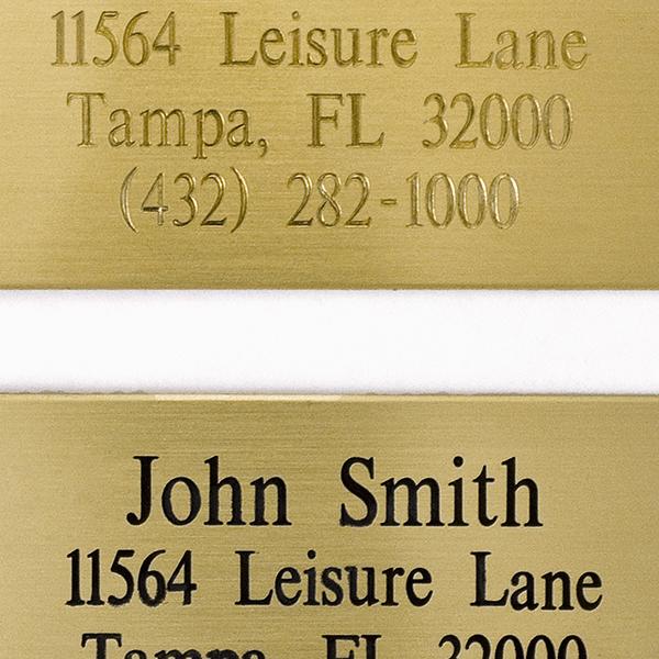 Letter Color Sample