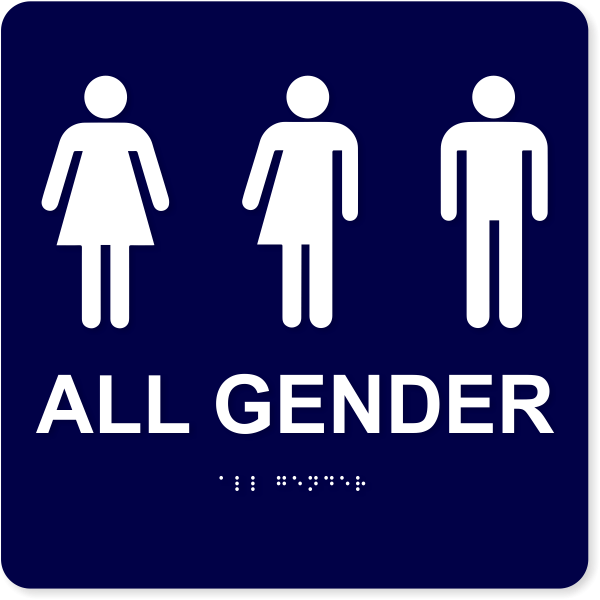 """All Gender with Icons - ADA Compliant 