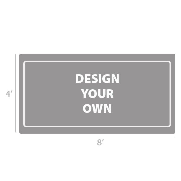 4' x 8' Custom Full Color Vinyl Banner