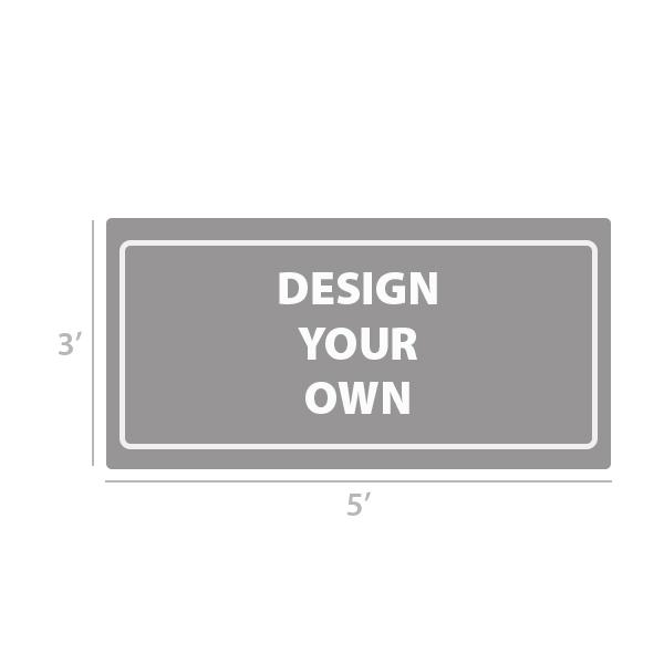 3' x 5' Custom Full Color Vinyl Banner