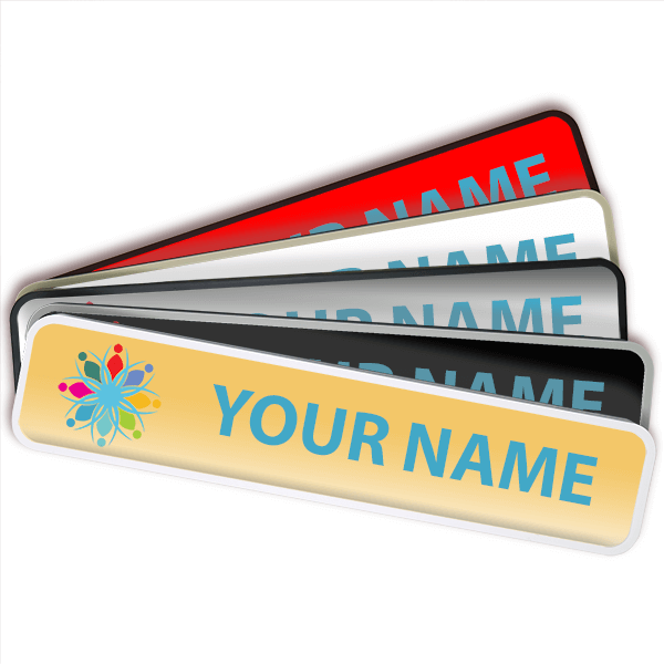"""Rounded Full Color Wall Sign with Holder - 2"""" x 10"""""""