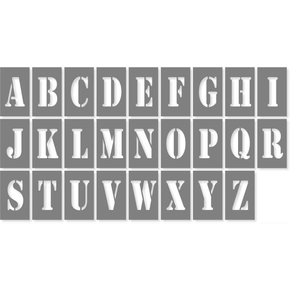 """3"""" Letter Alphabet Pack"""