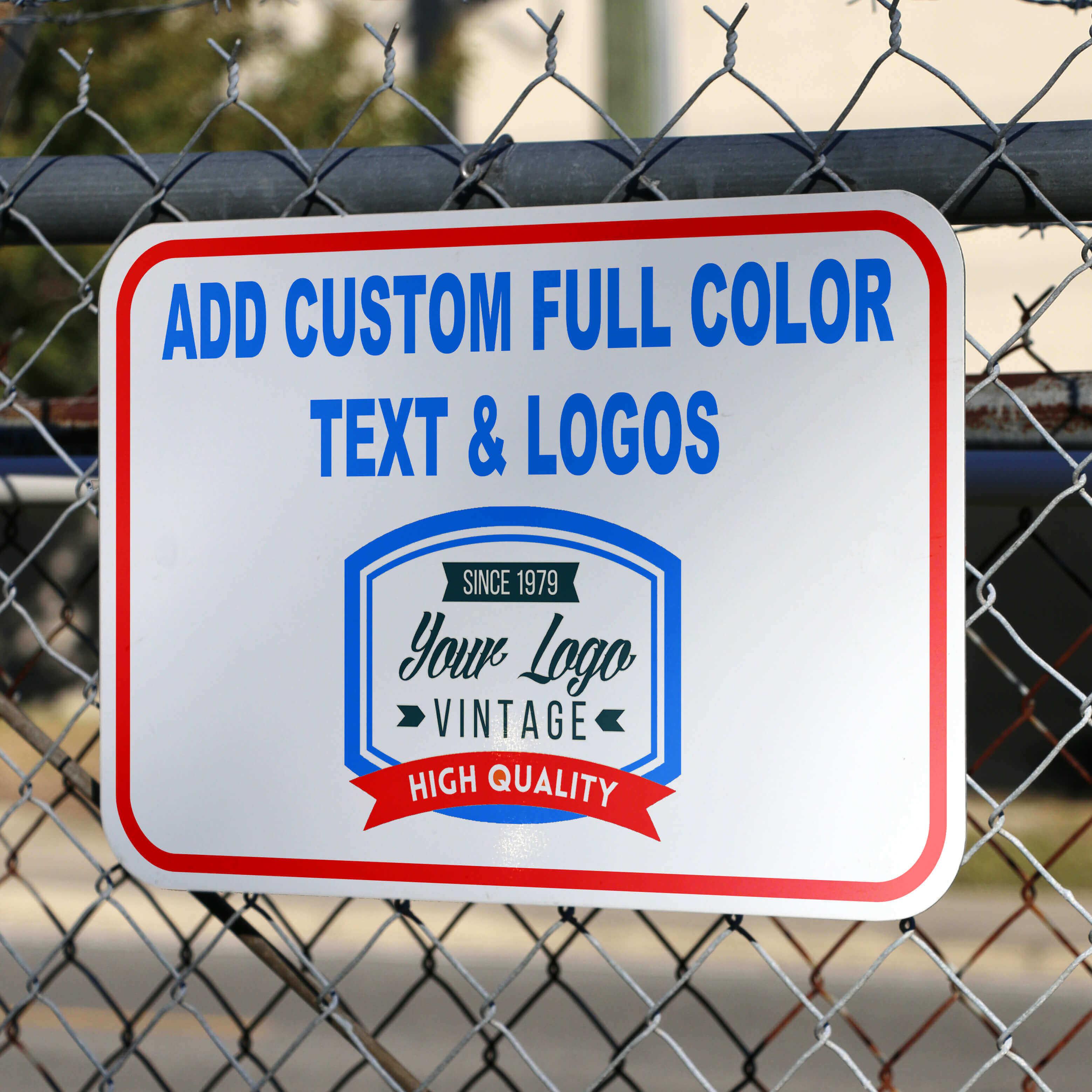 Custom Aluminum Sign