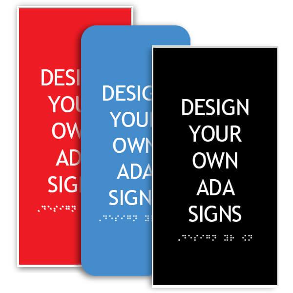 ADA Sign Vertical