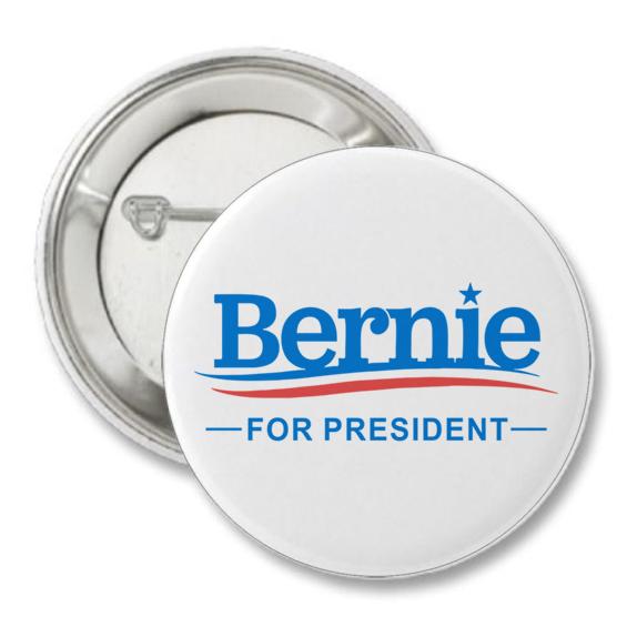 Bernie Sanders Presidential Campaign Button