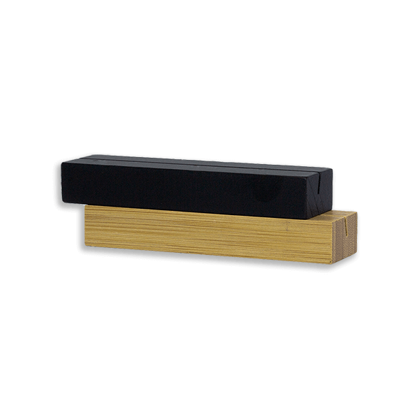 """Wood Place Card Holders 4"""""""