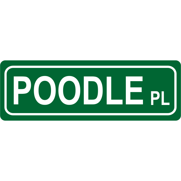 Place Street Sign
