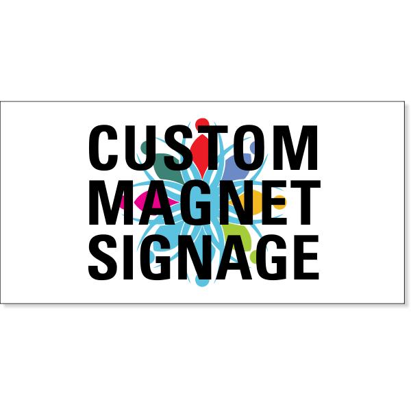 Custom Magnetic Sign | Set of 2