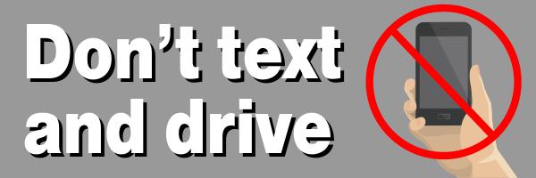 Text & Drive Bumper Sticker