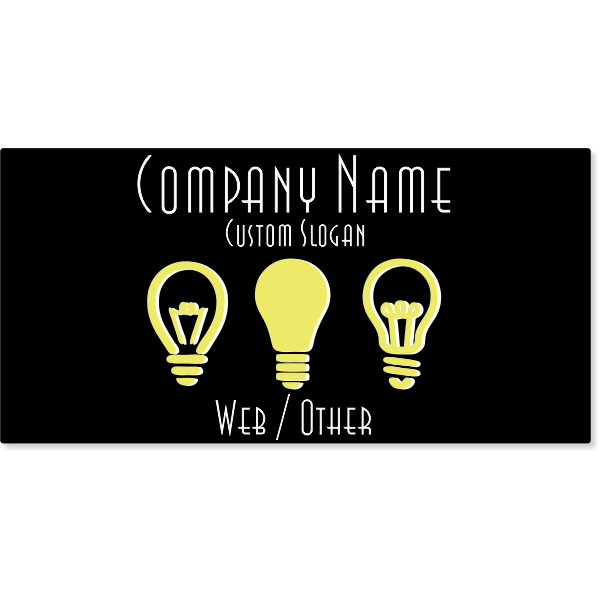 Electrical Company Magnetic Sign   Set of 2