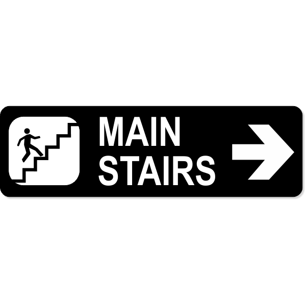 """Stairs Right Sign 