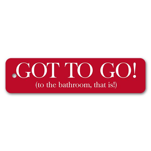 Got to Go! Bathroom Pass