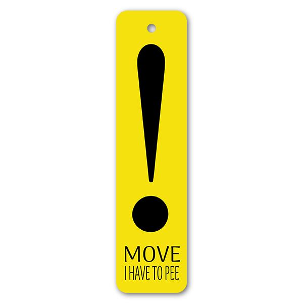 Move! Bathroom Pass