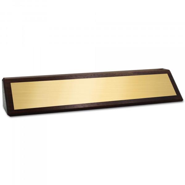 Genuine Wood Desk Wedge