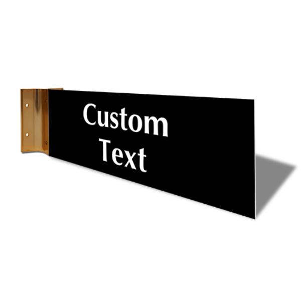 "Custom Text Corridor Sign   4"" x 12"""