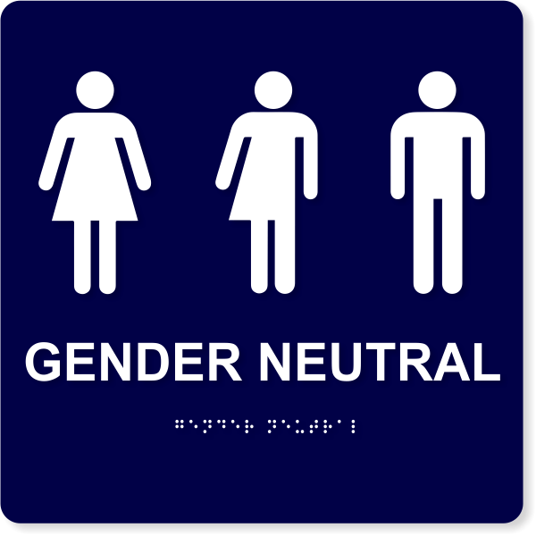 """Gender Neutral with Icons - ADA Compliant 