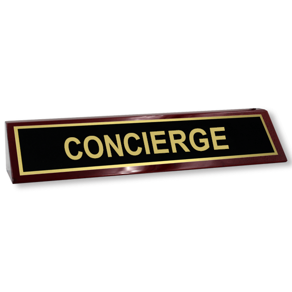 Concierge Desk Block