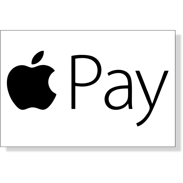 """Apple Pay Decal   2"""" x 3"""""""