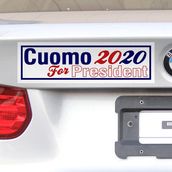 Cuomo for President 2020 Bumper Sticker