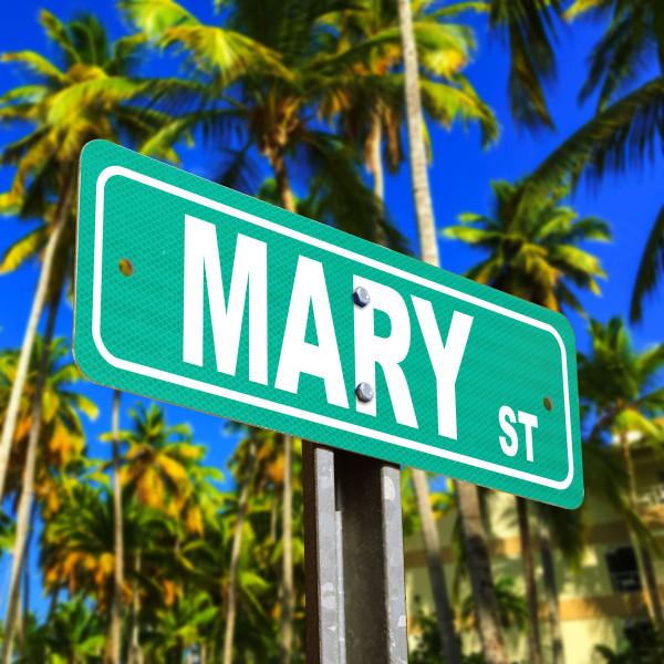 Custom Street Sign - Mary Street