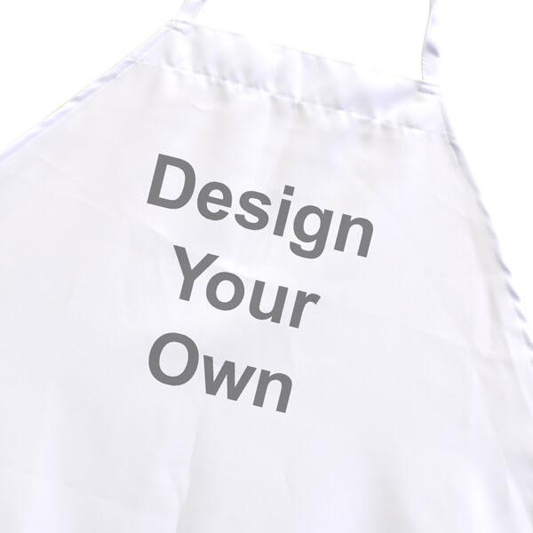 "Design Your Own 27"" x 31"" Bib Style Apron"