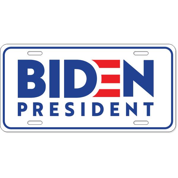 Joe Biden Presidential Campaign License Plate