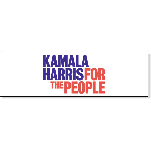 "Kamala Harris Presidential Campaign Bumper Sticker | 3"" x 10"""