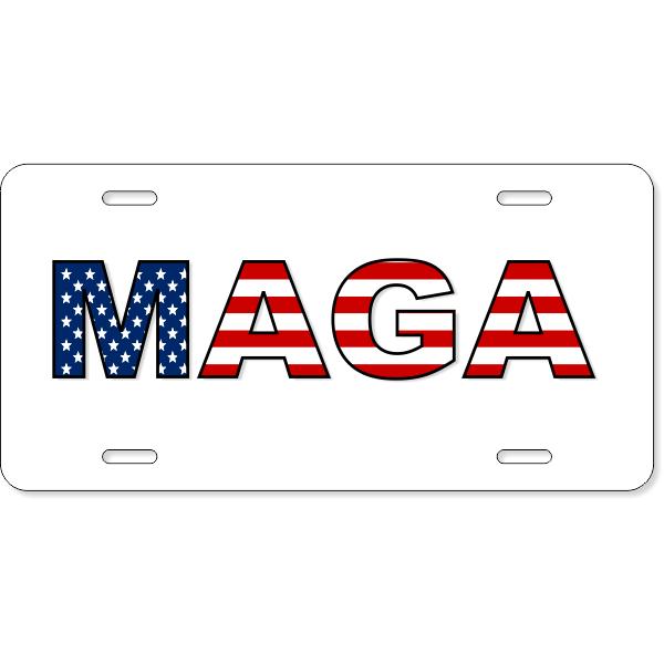 MAGA License Plate