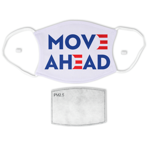 Move Ahead Biden Adult Size Face Mask
