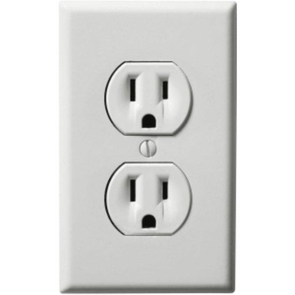 Prank Single Power Outlet Decal