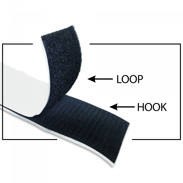 "Self-Adhesive 3"" Velcro® Strip"
