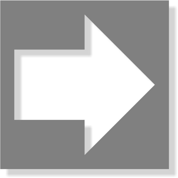 Directional Arrow Mylar Stencil | Multiple Sizes