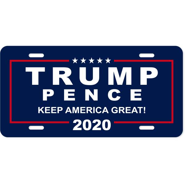 Donald Trump Presidential Campaign License Plate
