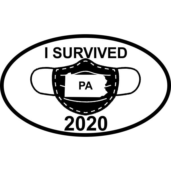 I Survived PA 2020 Bumper Sticker