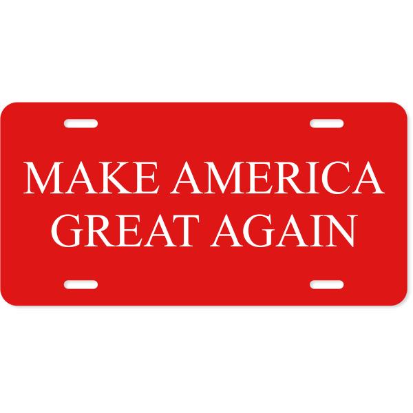 Make American Great Again License Plate