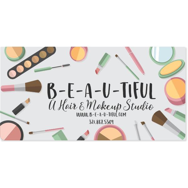Makeup Artist Magnetic Sign | Set of 2