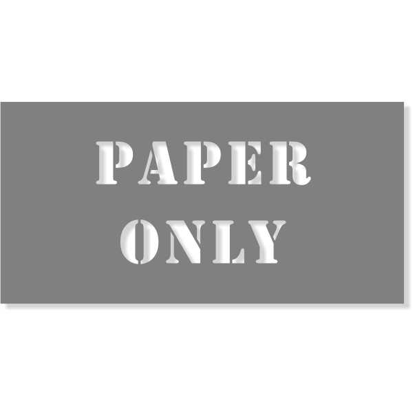 """Paper Only Stencil 
