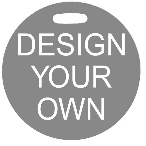 Custom Round Stroller & Car Seat Sign