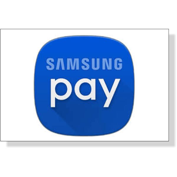 "Samsung Pay Decal | 2"" x 3"""