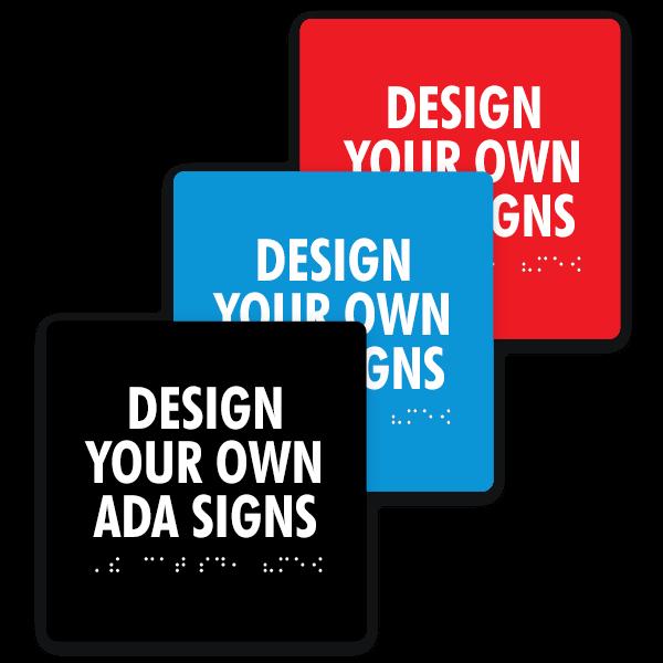 Square ADA Signs